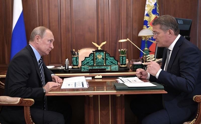 Путин объяснил главе Башкирии, что продэмбарго в РФ не является санкциями