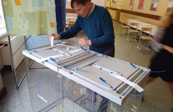 Горизбирком подвел итоги муниципальных выборов вПетербурге