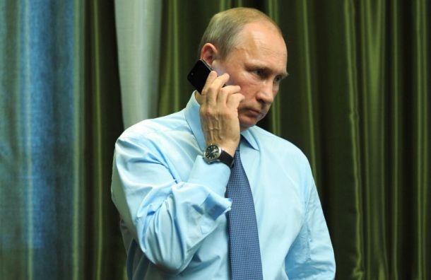 СМИ рассказали отайном телефоне Путина