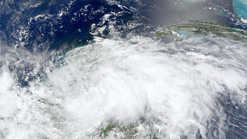 Тропический шторм «Умберто» возник в Атлантике