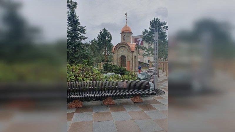 Сквер Ангелов открылся в Кемерове на месте ТЦ «Зимняя вишня»