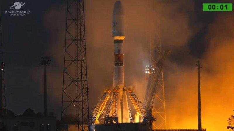 Очередной пуск ракеты «Союз» с космодрома «Куру» назначен на 17 декабря