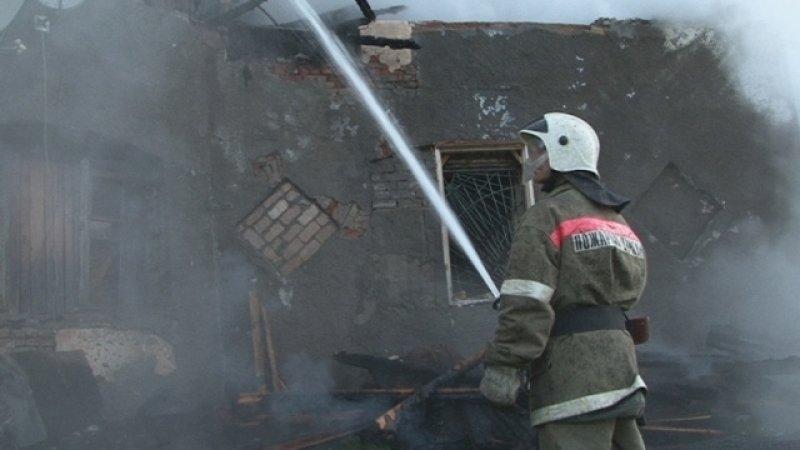 Семья из трех человек погибла при пожаре в Удмуртии