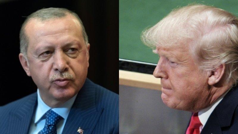 Эрдоган переговорил по телефону с Трампом