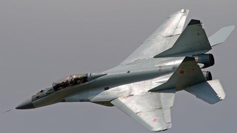 Истребитель МиГ-29 ВВС Словакии потерпел крушение