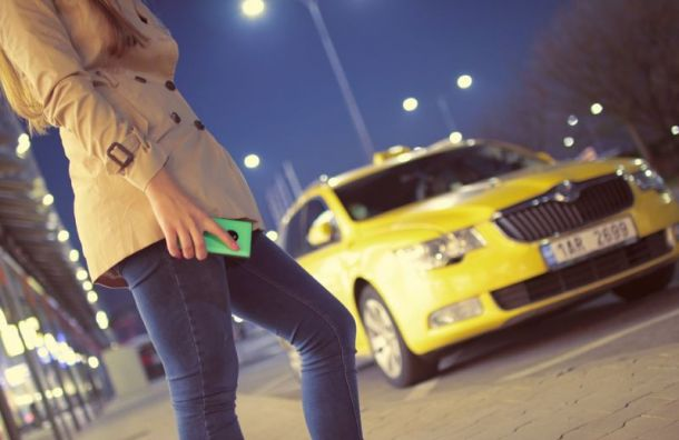 Таксист с