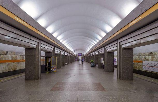 Поезда нарыжей ветке метро ходили сувеличенным интервалом