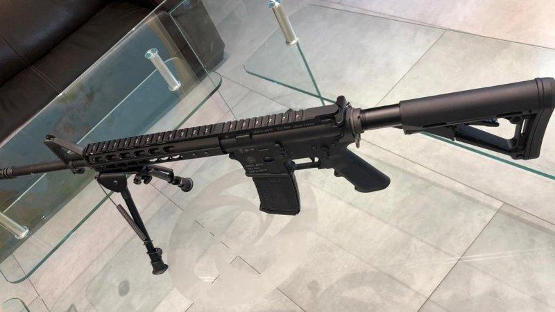 Российский аналог американской винтовки AR-15 впервые представили в столице
