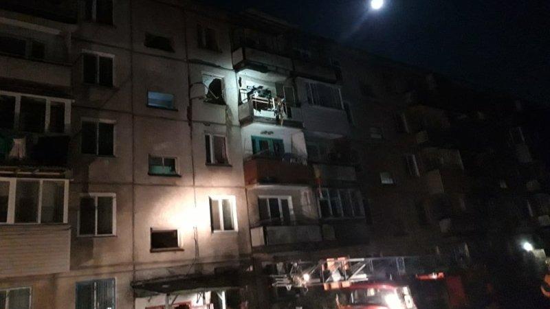 Видео с места обрушения жилого дома в Приморье появилось в Сети
