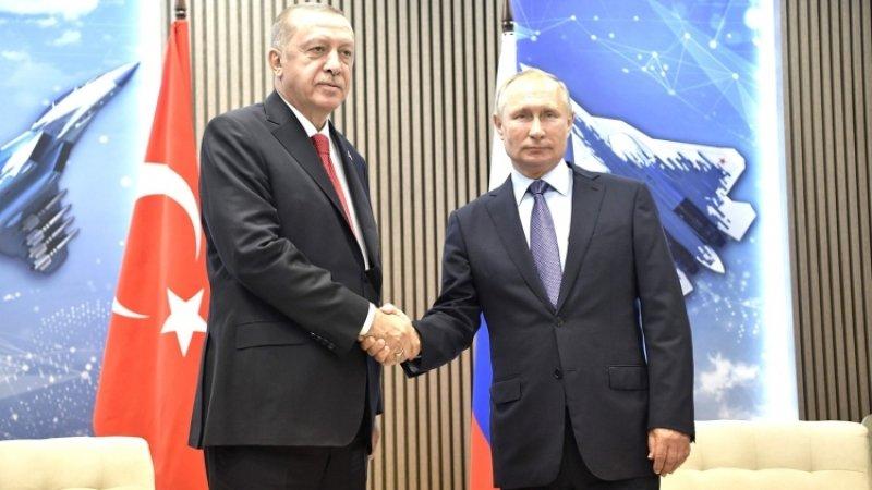 Путин и Эрдоган обсудят операцию против курдов-террористов в Сирии на встрече 22 октября