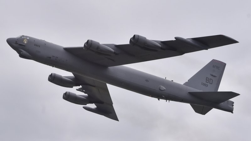 Пентагон сообщил о полете B-52, сымитировавшем бомбардировку Крыма