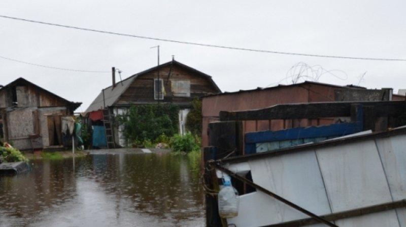 Число подтопленных поселков в Хабаровском крае уменьшилось за день