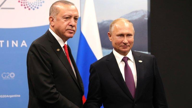 Путин и Эрдоган использовали карты Сирии при обсуждении меморандума