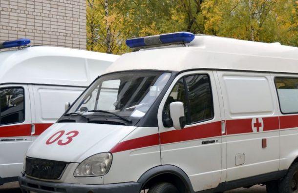 Грузовик сбил пенсионера-велосипедиста наЛуначарского