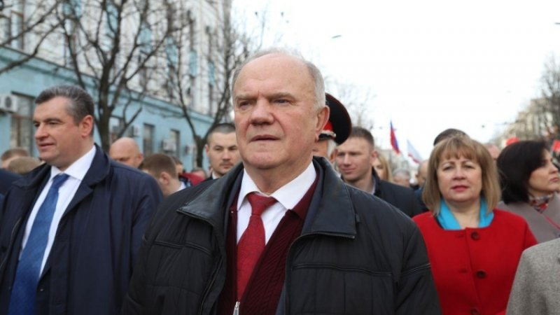 Зюганов надеется, что Путин его поддержит в ситуации с губернатором Иркутской области