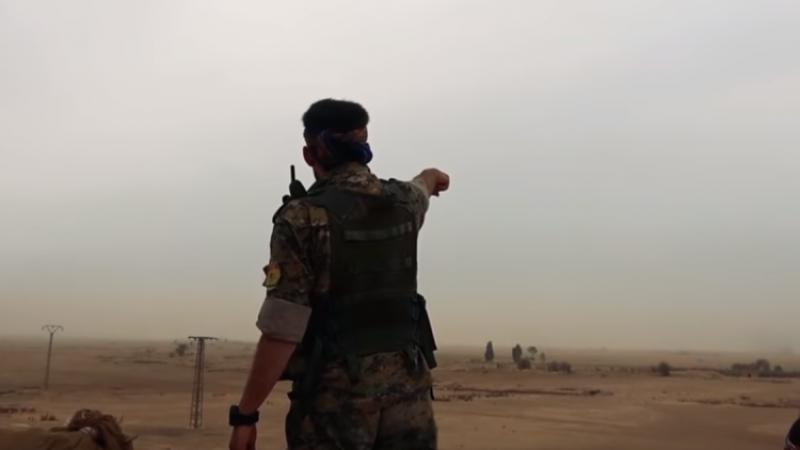 Курдские боевики заставили беженцев рыть тоннели в провинции Хасака