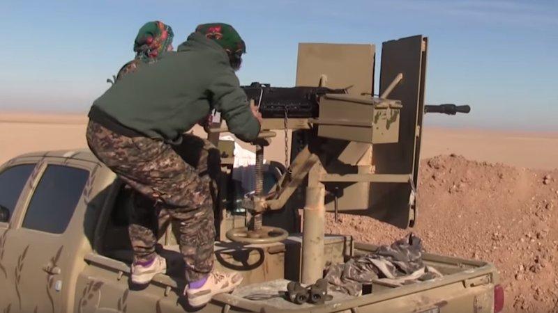 Курдские боевики обстреляли школу в провинции Ракка в Сирии, есть жертвы