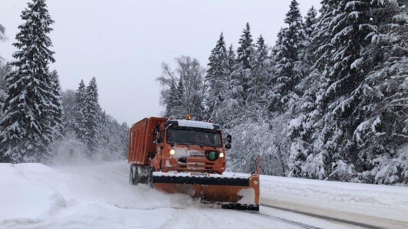Лавиннаяопасность объявлена в окрестностях Магадана из-за обильного снегопада
