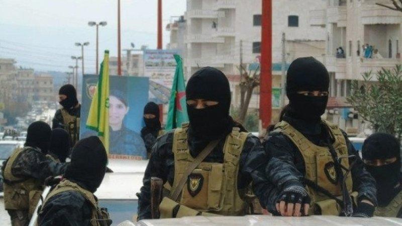 Курдские боевики атаковали протурецкие силы в Сирии на севере провинции Алеппо