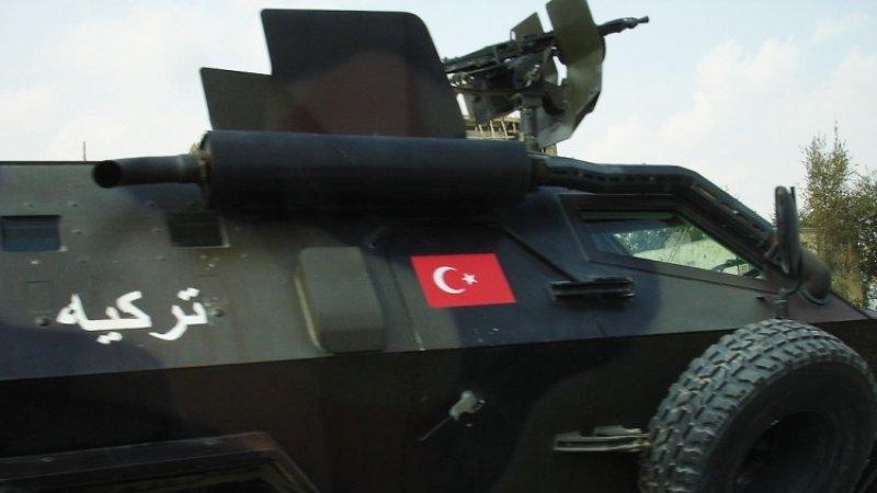 Двое турецких военных стали жертвами минометного обстрела с территории Сирии