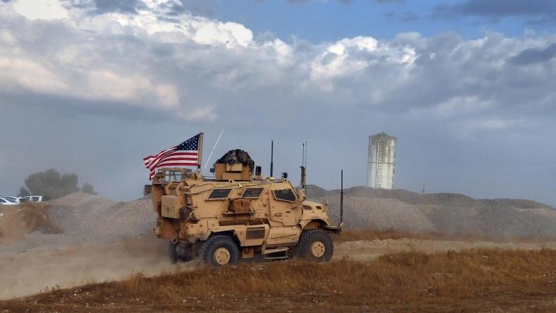 Военная колонна США вошла из Ирака в сирийскую провинцию Хасеке