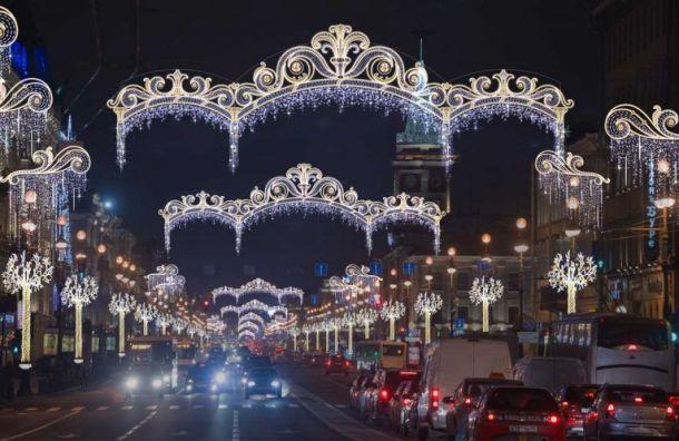 Друг Матвиенко сподставной фирмой украсит Петербург кНовому году