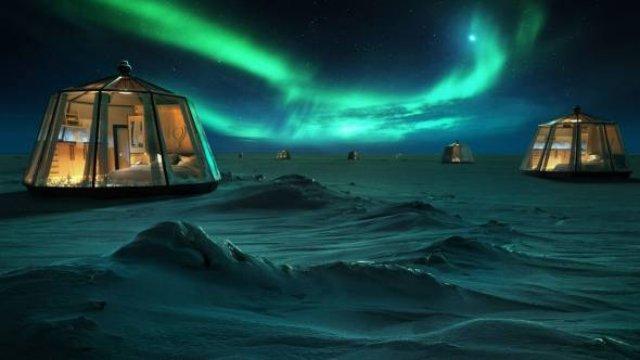 Для туристов построят самый северный отель в мире
