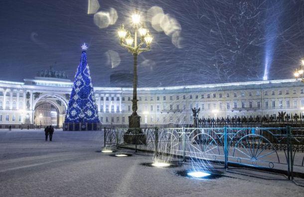 Петербург вошел всписок мест, где интереснее всего встречать Новый год