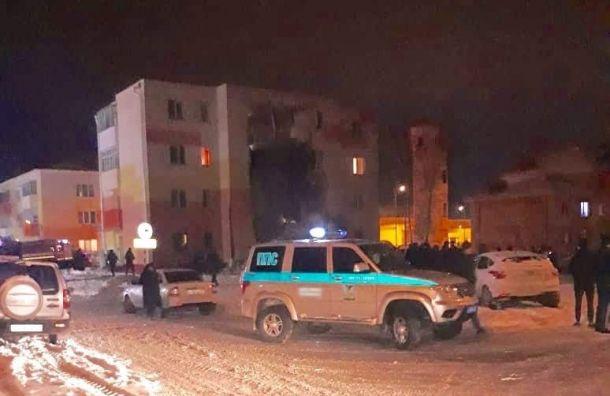 ВБелгородской области из-за хлопка газа рухнула стена жилого дома
