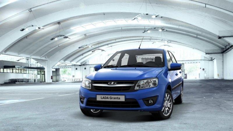 Автомобили Lada возглавили список самых продаваемых машин в России