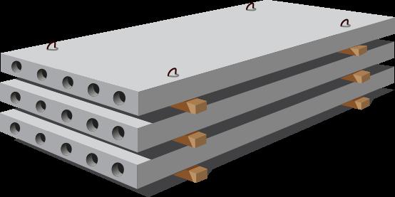 Большой выбор качественных железобетонных плит перекрытия